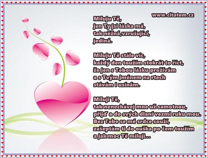Nádherná básnička plná lásky