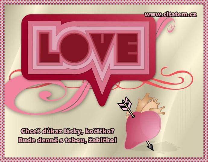 Básnička pro zamilované