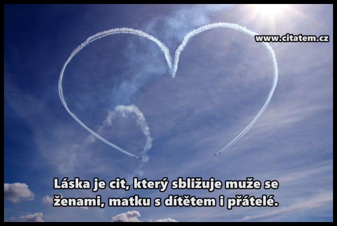 Láska je cit