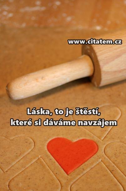 Láska, to je štěstí