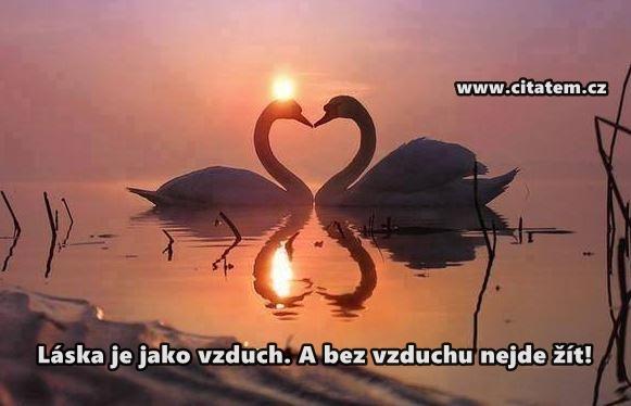 Láska je jako vzduch