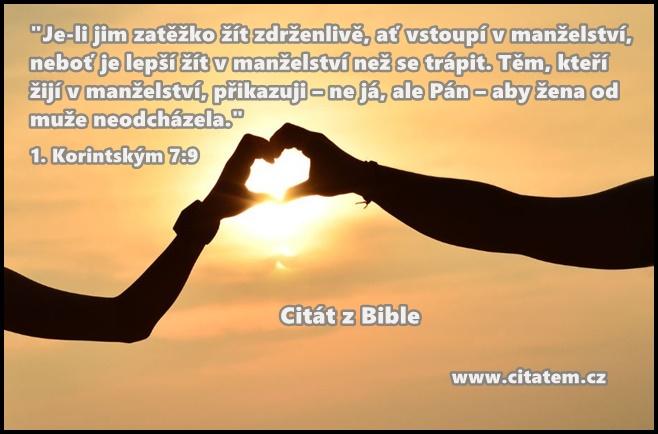 Manželství podle Bible