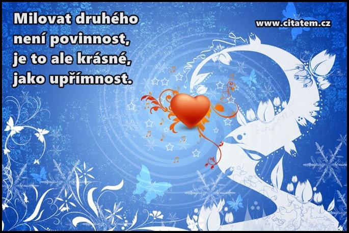 Milovat druhého není povinnost