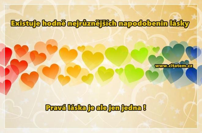 Pravá láska je jen jedna!