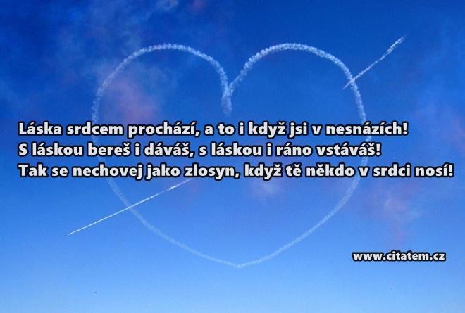 S láskou bereš i dáváš, s láskou i ráno vstáváš!