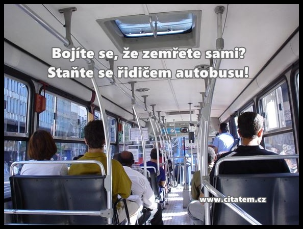 Staňte se řidičem autobusu!