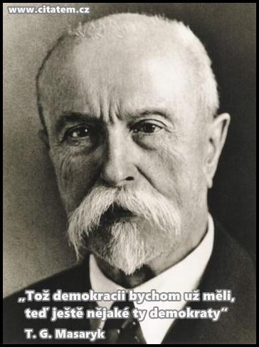 Citát T. G. Masaryk
