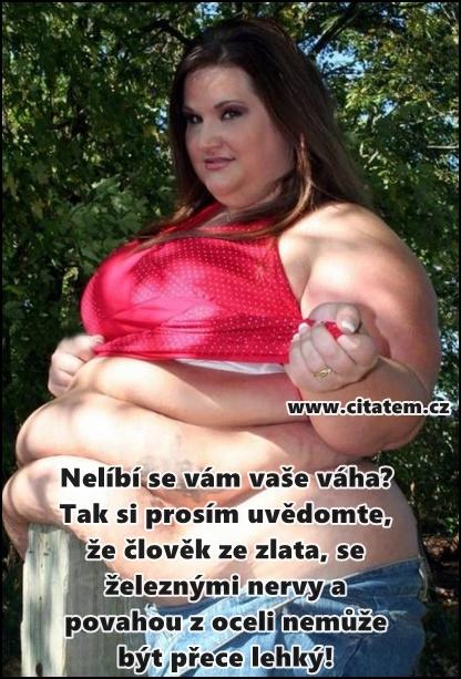 Nelíbí se vám vaše váha?