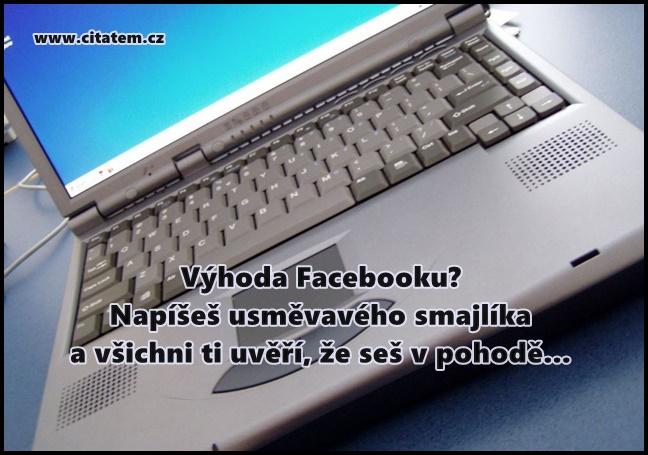Výhoda Facebooku?