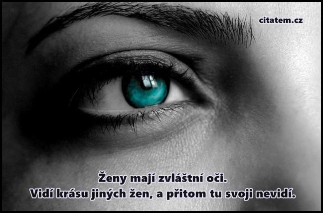 Ženy mají zvláštní oči