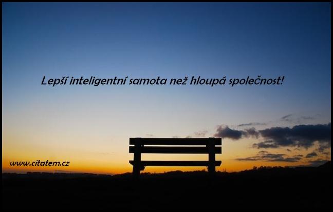 Lepší inteligentní samota