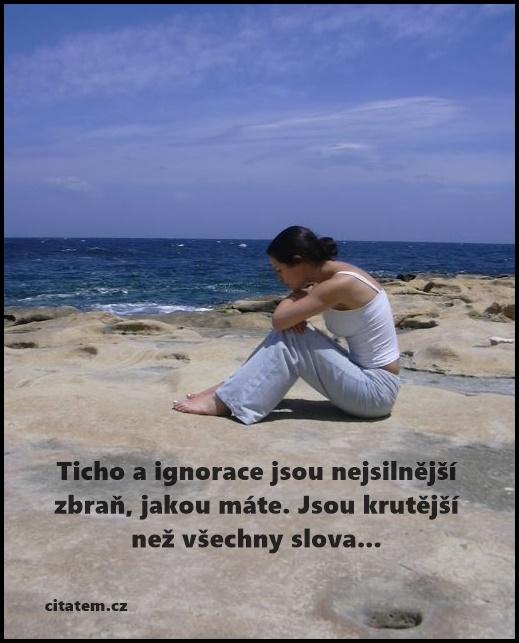 Ticho a ignorace