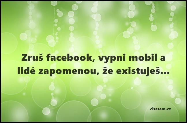 Zruš facebook