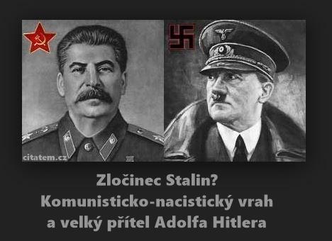 Zločinec Stalin